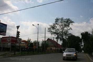 View to: Verkhniy lane, 85; Nikolskiy lane, 25. Yekaterinburg (Sverdlovskaya oblast)