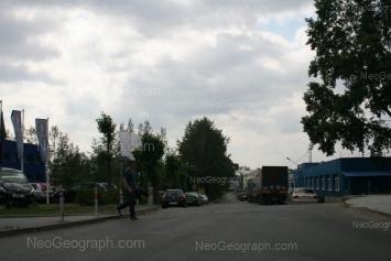 View to: Kosmonavtov avenue, 11Д. Yekaterinburg (Sverdlovskaya oblast)