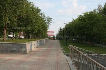 На фото видно: Мира улица, 35. Екатеринбург (Свердловская область)
