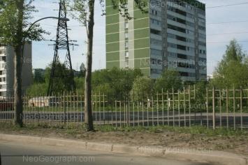 View to: Nachdiva Onufrieva street, 30; Nachdiva Onufrieva street, 38а. Yekaterinburg (Sverdlovskaya oblast)