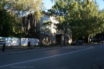 View to: Blukhera street, 3; Blukhera street, 7. Yekaterinburg (Sverdlovskaya oblast)