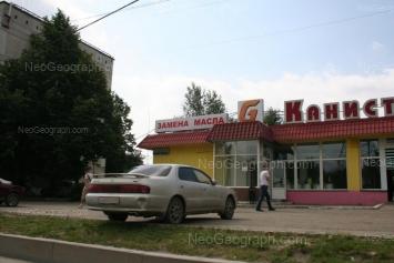 На фото видно: Донбасская улица, 43; Донбасская улица, 45. Екатеринбург (Свердловская область)