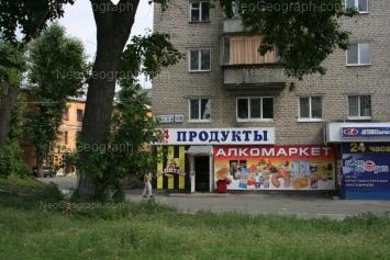 View to: Bebeliya street, 170; Bebeliya street, 176А. Yekaterinburg (Sverdlovskaya oblast)
