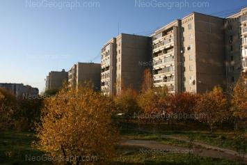 View to: Anni Bichkovoi street, 14; Anni Bichkovoi street, 16; Anni Bichkovoi street, 18. Yekaterinburg (Sverdlovskaya oblast)
