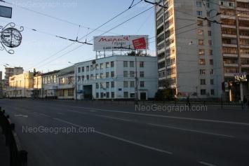 View to: Sverdlova street, 6; Sverdlova street, 8. Yekaterinburg (Sverdlovskaya oblast)