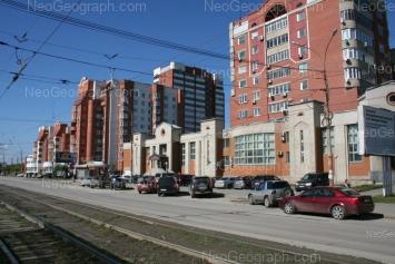View to: Frontovikh Brigad street, 7; Elektrikov street, 1. Yekaterinburg (Sverdlovskaya oblast)