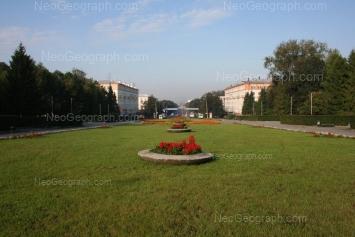 На фото видно: Ленина проспект, 70; Ленина проспект, 72; Ленина проспект, 103. Екатеринбург (Свердловская область)