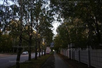 View to: Blukhera street, 21. Yekaterinburg (Sverdlovskaya oblast)