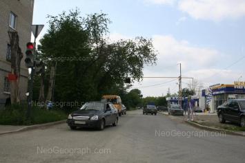 View to: Chernigovskiy lane, 29; Donbasskaya street, 21а; Donbasskaya street, 23. Yekaterinburg (Sverdlovskaya oblast)