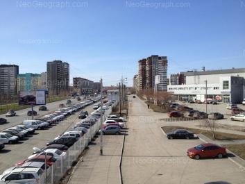 View to: Sedova avenue, 26/3; Bebeliya street, 115; Tavatuiskaya street, 1В; Tavatuiskaya street, 1Б; Tavatuiskaya street, 1д; Tavatuiskaya street, 2; Tavatuiskaya street, 2/2. Yekaterinburg (Sverdlovskaya oblast)