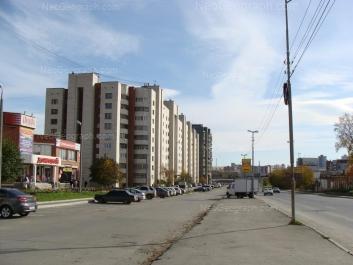 На фото видно: Бебеля улица, 114; Бебеля улица, 116. Екатеринбург (Свердловская область)
