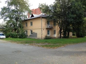 View to: Voennaya street, 16. Yekaterinburg (Sverdlovskaya oblast)