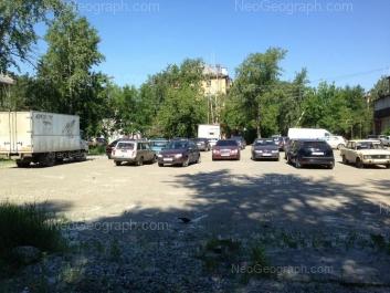На фото видно: Донбасская улица, 14; Донбасская улица, 16. Екатеринбург (Свердловская область)