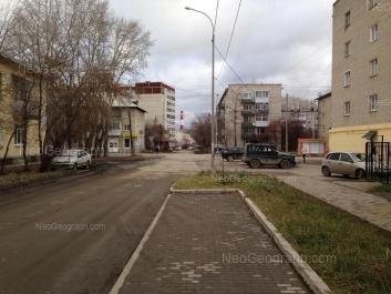 View to: Beloyarskaya street, 18; Karelskaya street, 49; Karelskaya street, 68. Yekaterinburg (Sverdlovskaya oblast)