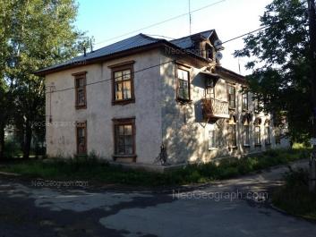 View to: Balaklavskiy lane, 2В. Yekaterinburg (Sverdlovskaya oblast)