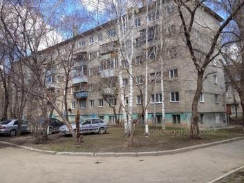 На фото видно: Блюхера улица, 26; Мира улица, 1В. Екатеринбург (Свердловская область)