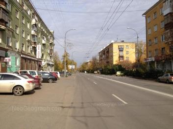 View to: Ordzhonikidze avenue, 3; Ordzhonikidze avenue, 4; Ordzhonikidze avenue, 6. Yekaterinburg (Sverdlovskaya oblast)