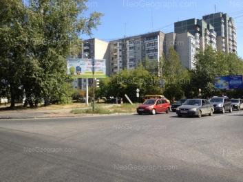 На фото видно: Байкальская улица, 23; Байкальская улица, 23; Байкальская улица, 27. Екатеринбург (Свердловская область)