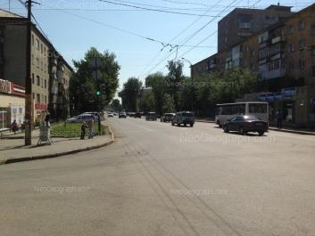 View to: Sulimova street, 36; Sulimova street, 39; Sulimova street, 41. Yekaterinburg (Sverdlovskaya oblast)