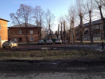 На фото видно: Огарёва улица, 22; Огарёва улица, 25. Екатеринбург (Свердловская область)
