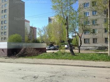 View to: Angarskaya street, 46; Angarskaya street, 50; Angarskaya street, 50а; Angarskaya street, 52/1. Yekaterinburg (Sverdlovskaya oblast)