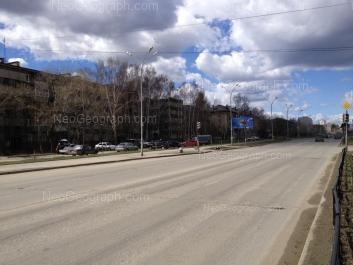 View to: Sortirovochnaya street, 18; Sortirovochnaya street, 23; Tavatuiskaya street, 5; Tavatuiskaya street, 9. Yekaterinburg (Sverdlovskaya oblast)