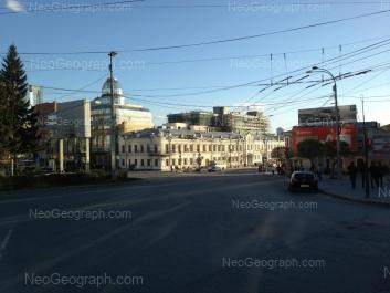 View to: Malisheva street, 43; Malisheva street, 68а; Rozi Luksemburg street, 2; Rozi Luksemburg street, 4 (Покровский пассаж, ТЦ). Yekaterinburg (Sverdlovskaya oblast)
