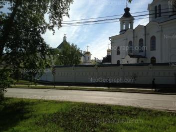 View to: Bisertskaya street, 12А; Bisertskaya street, 12в. Yekaterinburg (Sverdlovskaya oblast)