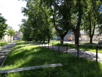 На фото видно: Московская улица, 14; Московская улица, 16; Попова улица, 24. Екатеринбург (Свердловская область)