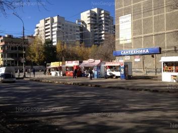 На фото видно: Ильича улица, 45; Ильича улица, 59; Победы улица, 31. Екатеринбург (Свердловская область)