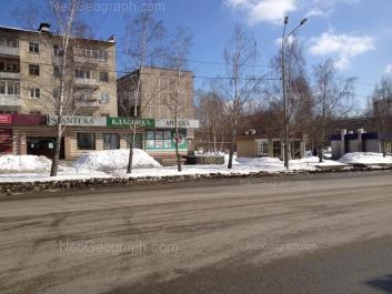 На фото видно: Шаумяна улица, 98/1; Шаумяна улица, 100. Екатеринбург (Свердловская область)