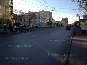 View to: Malisheva street, 46 (Свердловский областной краеведческий музей); Malisheva street, 50. Yekaterinburg (Sverdlovskaya oblast)