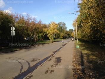 View to: Inzhenernaya street, 67А; Inzhenernaya street, 67. Yekaterinburg (Sverdlovskaya oblast)
