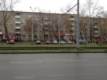 View to: Uralskaya street, 64. Yekaterinburg (Sverdlovskaya oblast)