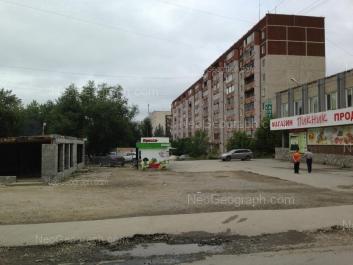 На фото видно: Шефская улица, 62. Екатеринбург (Свердловская область)