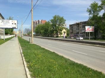 На фото видно: Бебеля улица, 170; Бебеля улица, 176; Бебеля улица, 184. Екатеринбург (Свердловская область)