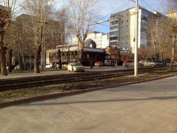 View to: Michurina street, 216а; Michurina street, 216; Tkachei street, 8. Yekaterinburg (Sverdlovskaya oblast)