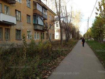 View to: Ispitateley street, 9; Ispitateley street, 10. Yekaterinburg (Sverdlovskaya oblast)