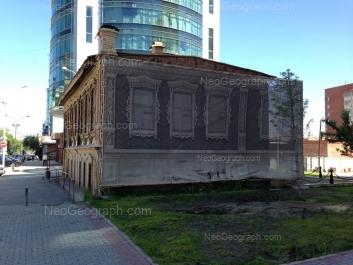 View to: Sakko i Vantsetti street, 69. Yekaterinburg (Sverdlovskaya oblast)