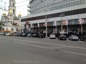 View to: 8 Marta street, 17 (Большой Златоуст); Voevodina street, 8 (Limerance Fashion Center, ТЦ). Yekaterinburg (Sverdlovskaya oblast)