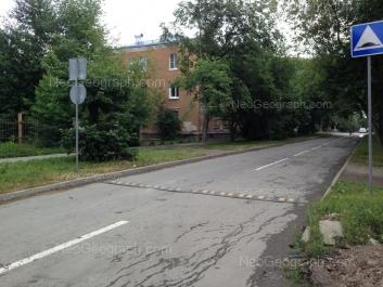 View to: Izbirateley street, 66. Yekaterinburg (Sverdlovskaya oblast)