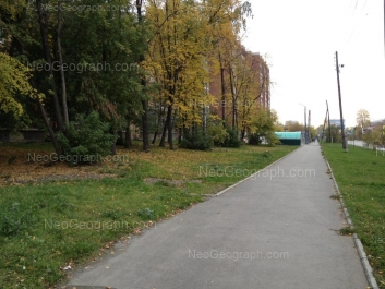 View to: Kirova street, 7; Kirova street, 9. Yekaterinburg (Sverdlovskaya oblast)