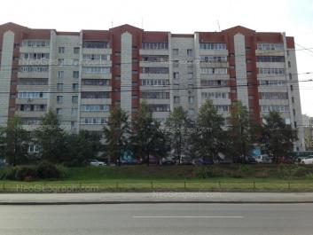 View to: Krauliya street, 55. Yekaterinburg (Sverdlovskaya oblast)