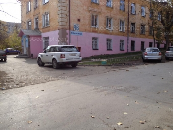 На фото видно: Зои Космодемьянской улица, 46; Косарева улица, 15. Екатеринбург (Свердловская область)