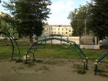View to: Chernomorskiy lane, 3; Baumana street, 56. Yekaterinburg (Sverdlovskaya oblast)