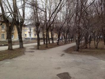View to: Latviiskaya street, 12; Pribaltiyskaya street, 21. Yekaterinburg (Sverdlovskaya oblast)