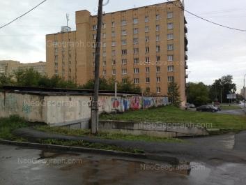 View to: Kliuchevskaya street, 19. Yekaterinburg (Sverdlovskaya oblast)
