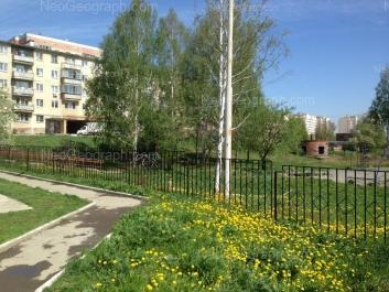 View to: Bisertskaya street, 22; Bisertskaya street, 34; Bisertskaya street, 36. Yekaterinburg (Sverdlovskaya oblast)