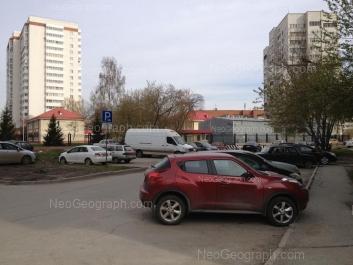 На фото видно: Ясная улица, 22А; Ясная улица, 22Б; Ясная улица, 22Г. Екатеринбург (Свердловская область)