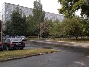 View to: Krauliya street, 75/1. Yekaterinburg (Sverdlovskaya oblast)